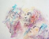 aquarelle portrait 30-25cm