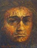 1993 Huile sur toile 18 14cm