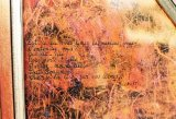 1993 Huile sur toile papier de couleur détail