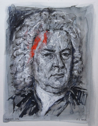 Jean s bastien bach artiste peintre marseille gouache - Artiste peintre marseille ...