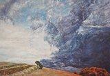 peinture huile paysage pays basque