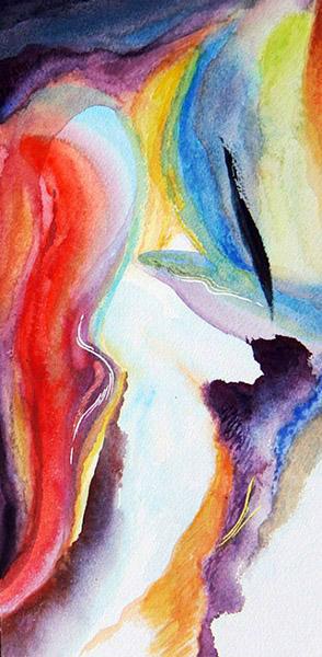 Aquarelle peintre Salducci