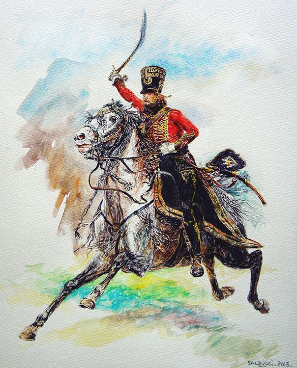 tableau hussard Detaille edouard