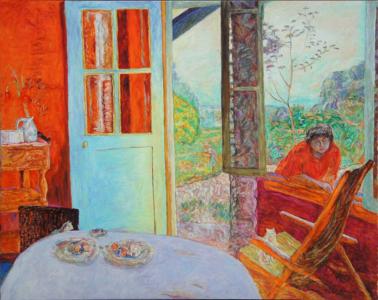 copie peinture Bonnard