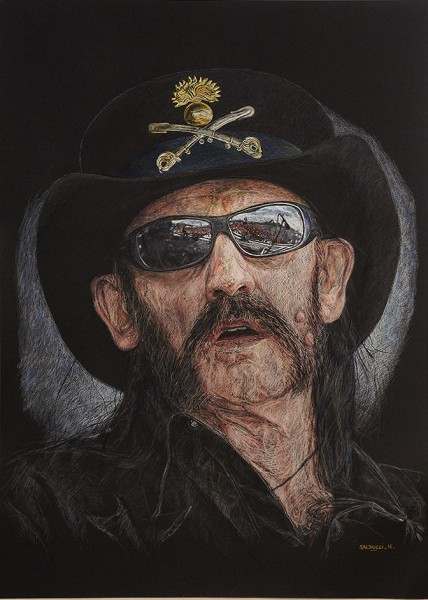 portraitiste marsseille Lemmy Kilmister