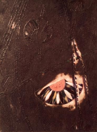 1982 Huile et colle sur toile