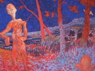 1984 Huile sur toile 125 90cm
