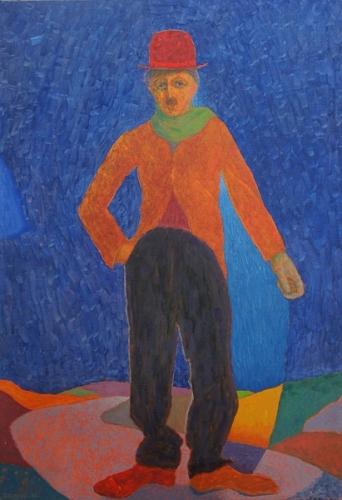 1988 Huile sur toile 92 65cm