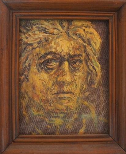 1992 Huile sur toile 12,5 10cm