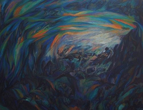 1993 Huile sur toile 115 89cm