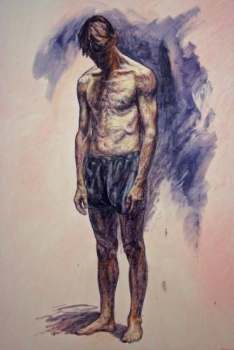 1995 Huile sur toile 130 89 cm