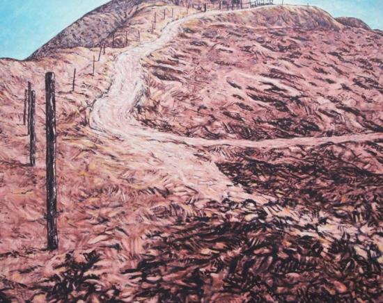 1997 Huile sur toile 92 73cm