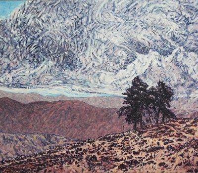 1998 Huile sur toile 116 81cm
