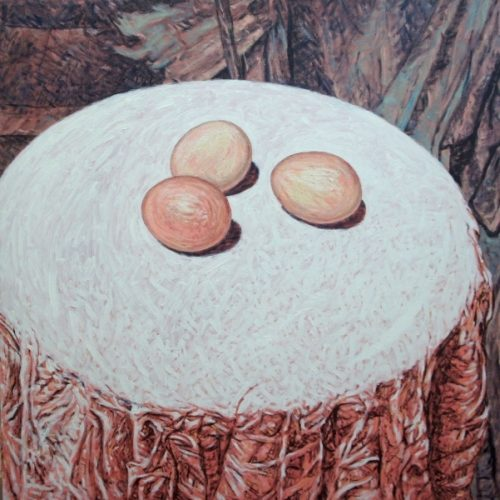 1998 Huile sur toile 80 80cm