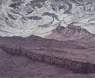 1999 Huile sur toile 92 60cm