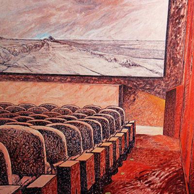 Peinture salle de cinéma Patrick Salducci