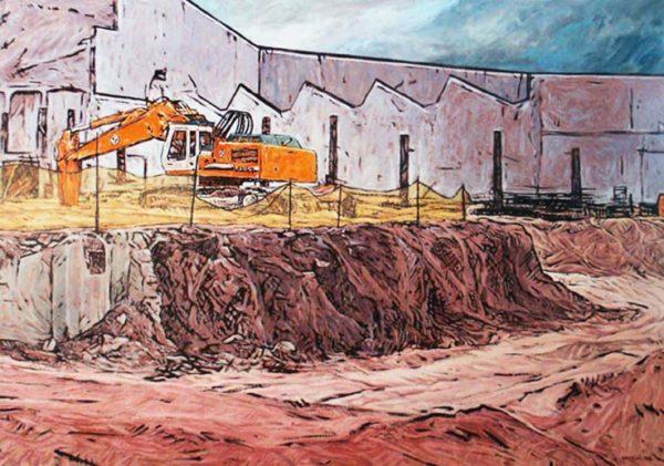 Grue peinture Patrick Salducci