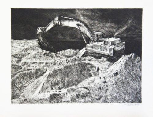 2005 gravure 28 23 cm