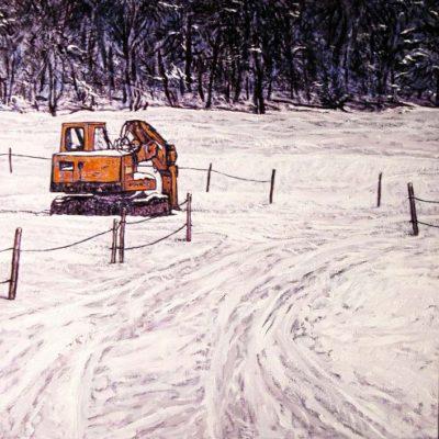 Peinture Grue Patrick Salducci