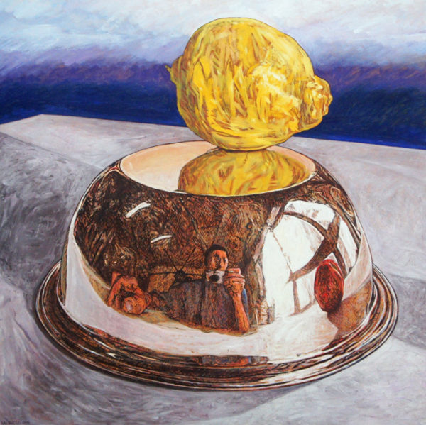 Peinture nature morte Patrick Salducci