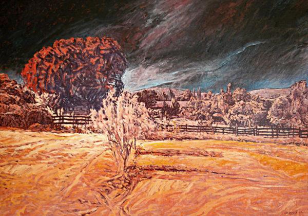 Peinture paysage Patrick Salducci