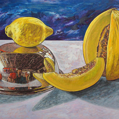 Peinture fruits nature morte Patrick Salducci