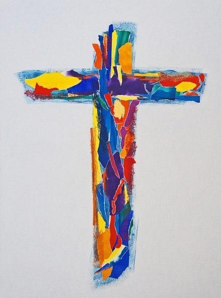 chritian art cross Patrick Salducci